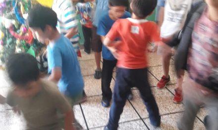 Jornada de juegos con los Hogares Liguen y Marcelino