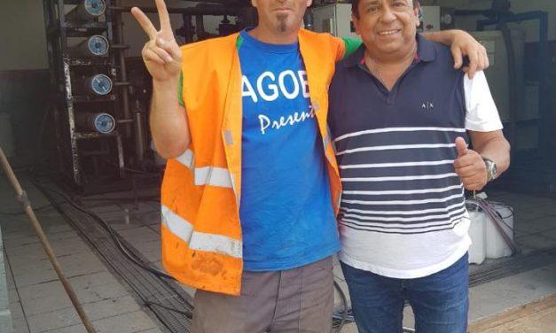 Jorge Mancini visita Complejo Ambiental en Mar del Plata