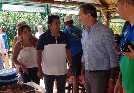 Almuerzo con el Gerente general y el Presidente de Ceamse