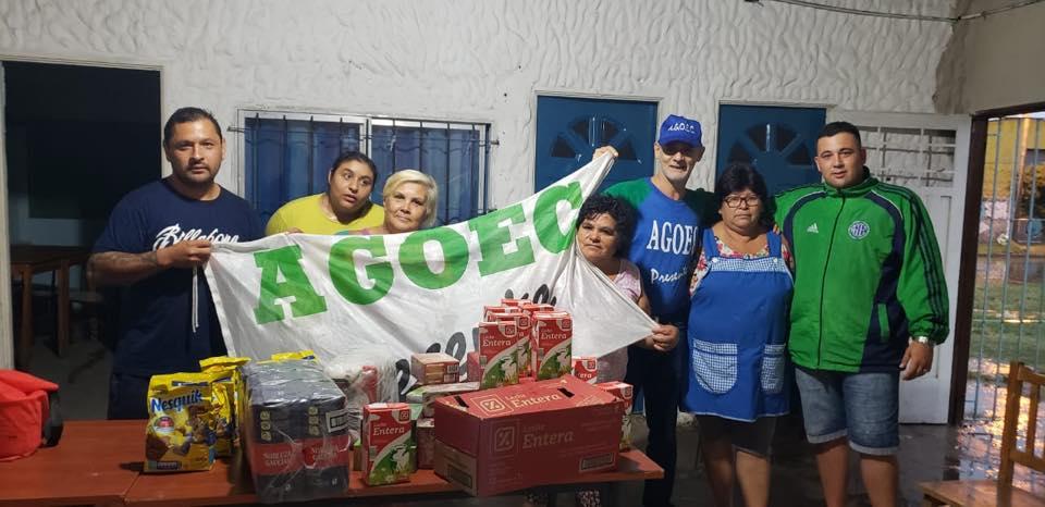 Colaborando con el Club Defensores de Belgrano