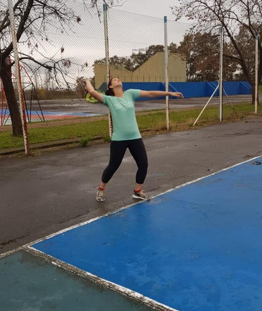 Entrenamiento de Tenis