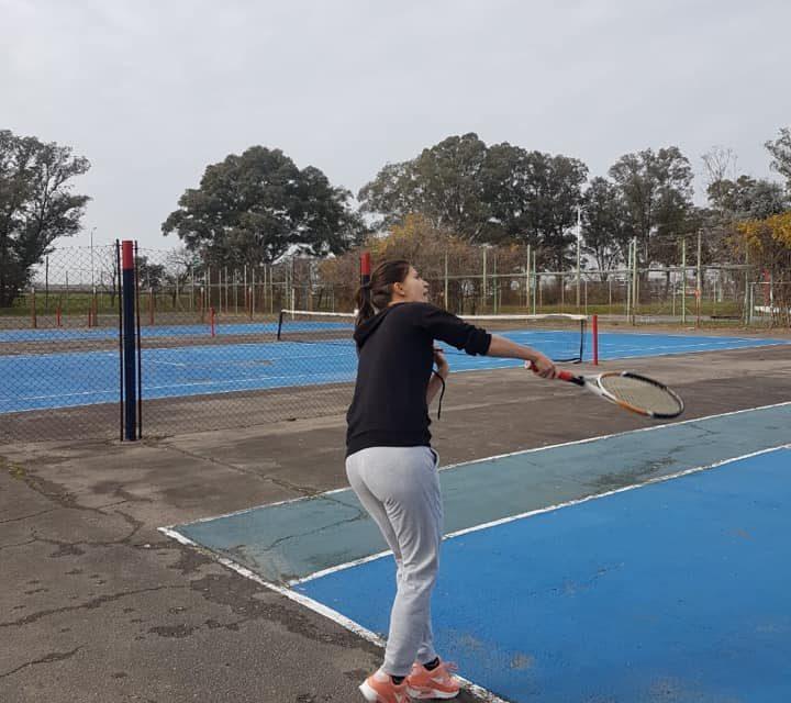 Entrenamiento en Parque San Martín
