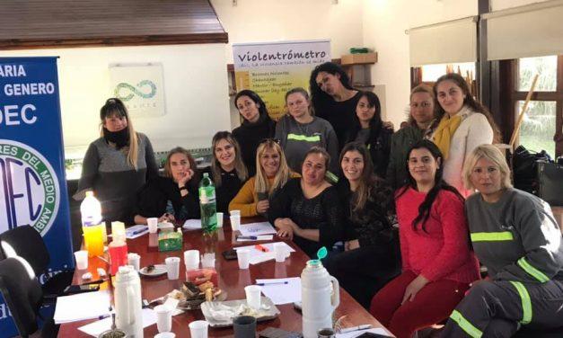 Primer encuentro de Mujeres en el Complejo Ambiental Norte 3