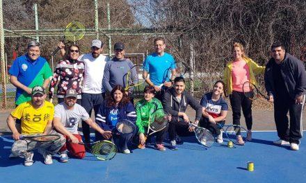 Entrenamiento de Tenis CPBA
