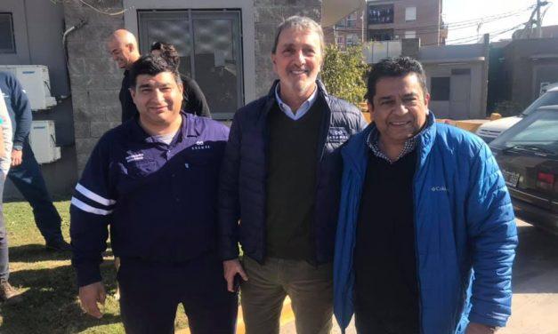 JorgeMancini almorzó junto al Presidente de la Ceamse Eduardo Ricciuti