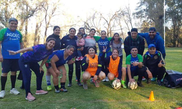 Entrenamientos de Fútbol Femenino