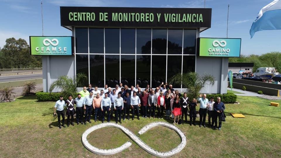 JorgeManciniFelícita a los Compañer@s de Centro de Monitoreo y Vigilancia del CPBA