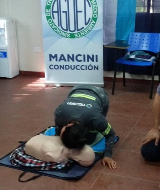 CURSO RCP JORGE MANCINI CONDUCCIÓN