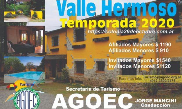 Valle Hermoso – Temporada 2020