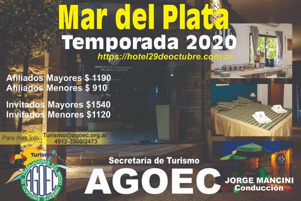 Mar del Plata – Temporada 2020
