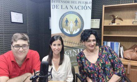 Nuestra Secretaria en programa de radio de la Defensoria del Pueblo