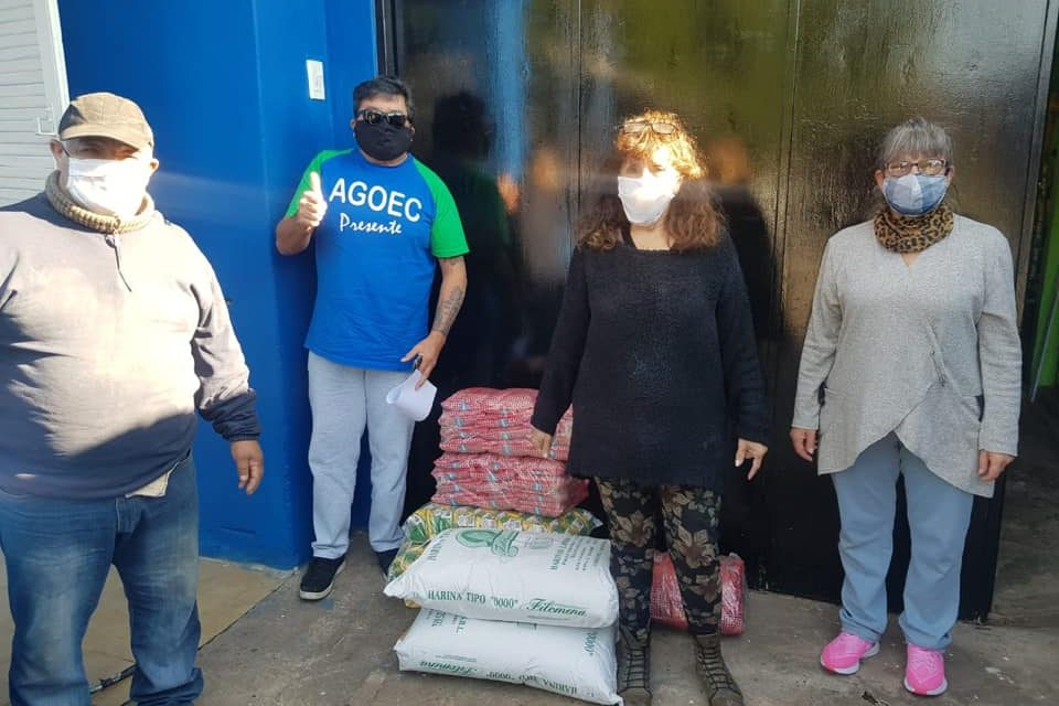 Donación de alimentos