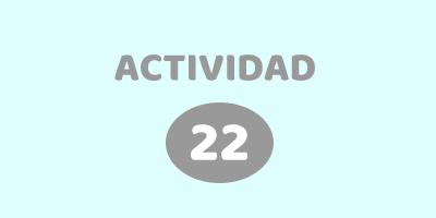 ACTIVIDAD 22 – ¿DESCUBRÍ EN QUE CAJA ESTA EL LOGO DE AGOEC?