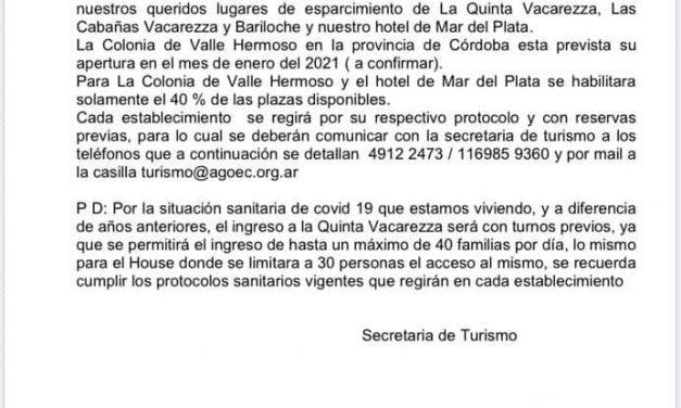 Anuncio Secretaría De Turismo