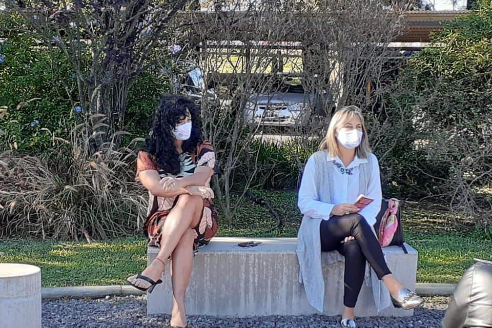 Charla Politicas de Género en complejo Ambiental Villa Domínico