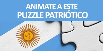 ACTIVIDAD DEL DÍA – ¿Te gustan los puzzles? Animate a este puzzle Patrio