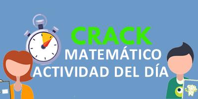 ACTIVIDAD DEL DÍA – CRACK MATEMÁTICO – ¿Qué tan bueno sos con los cálculos?